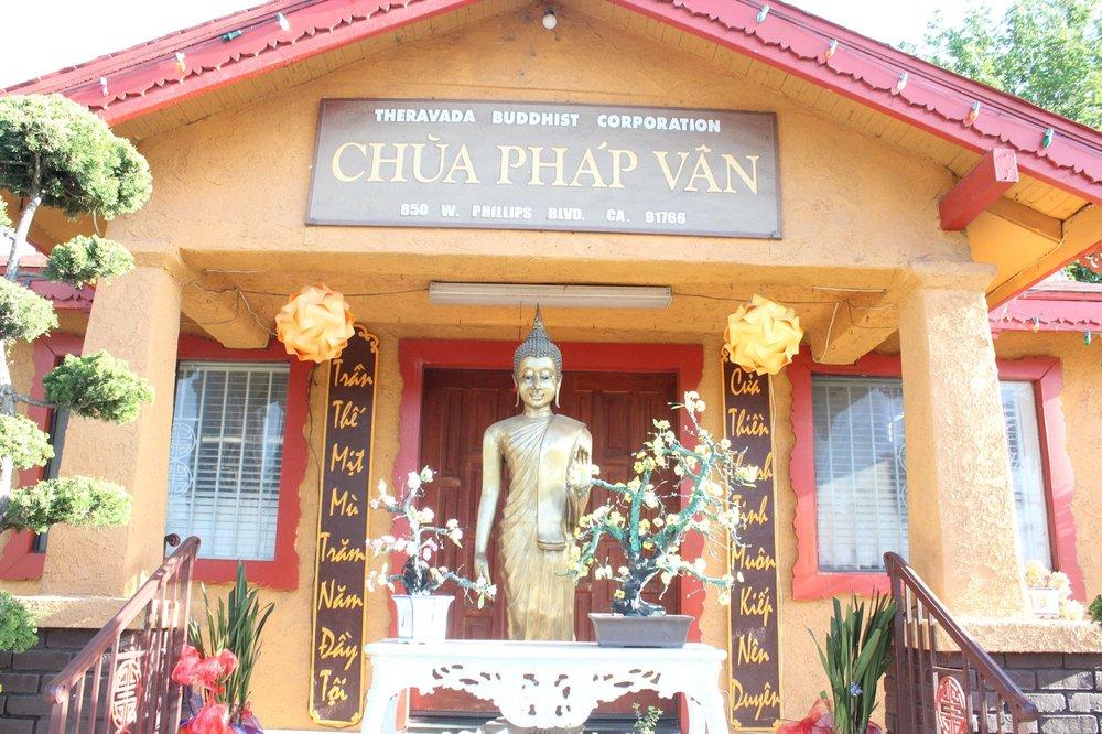 Danh sách và địa chỉ các chùa Phật giáo Nguyên Thủy tại hải ngoại