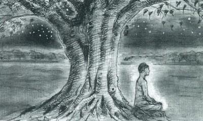 page2135-shakyamuni_under_bodhi_tree_w400_h238