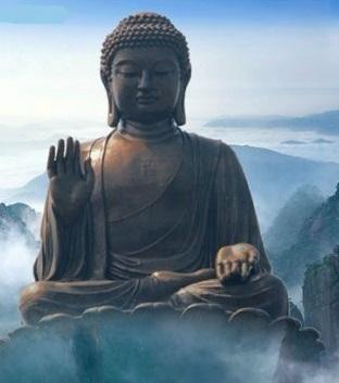 Tượng Phật kết Đắc Giáo Nghĩa Ấn (Sandarśana-mudrā: Đắc Chiếu Kiến Ấn)