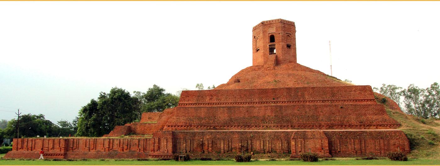 Tháp Hạnh Ngộ - Chaukhandi stupa
