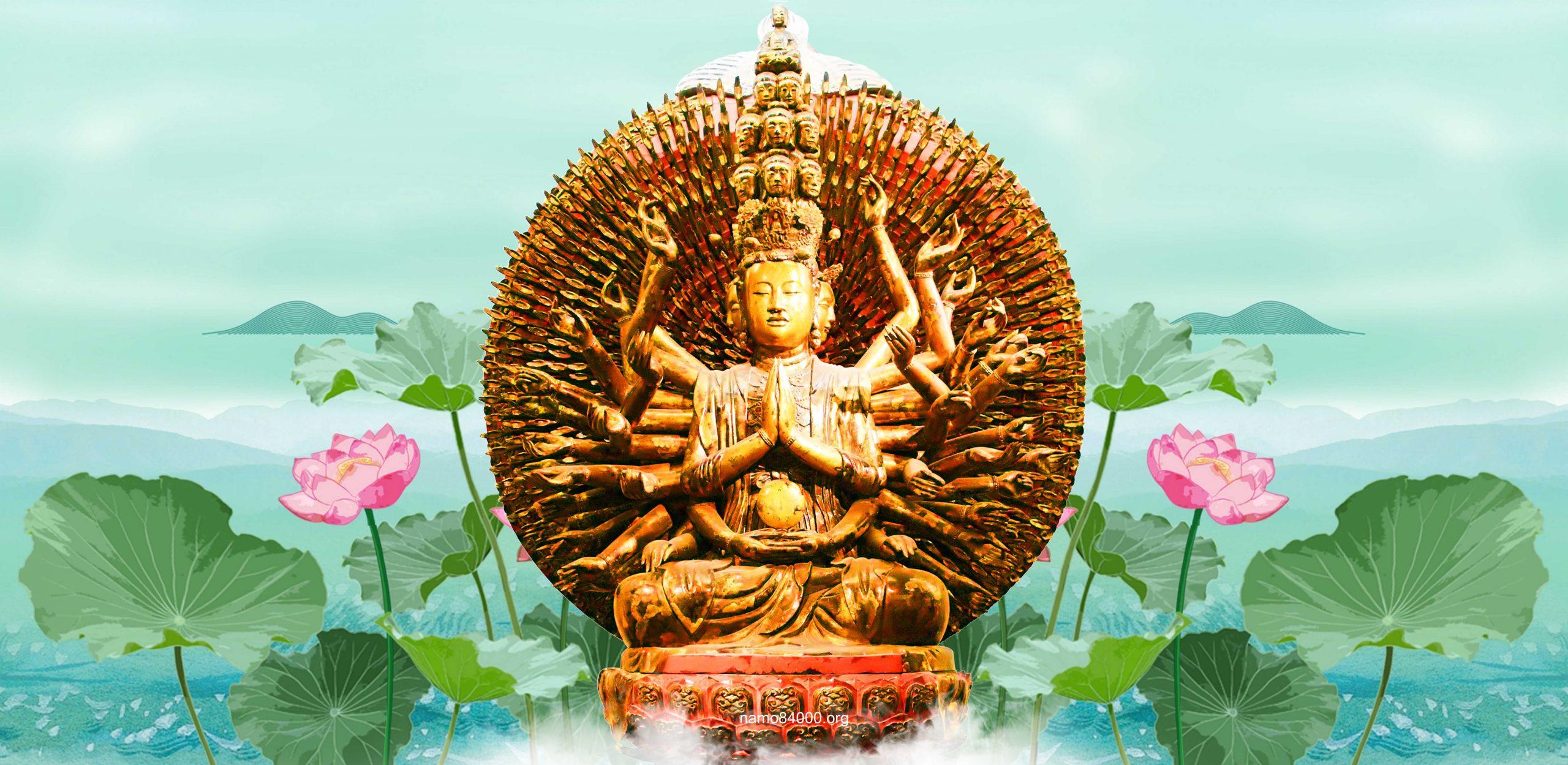 Thiên Thủ Thiên Nhãn Quán Âm Bồ tát – Thousand-Hand Thousand-Eye Avalokitesvara Bodhisattva – 千手观音觀世音菩薩