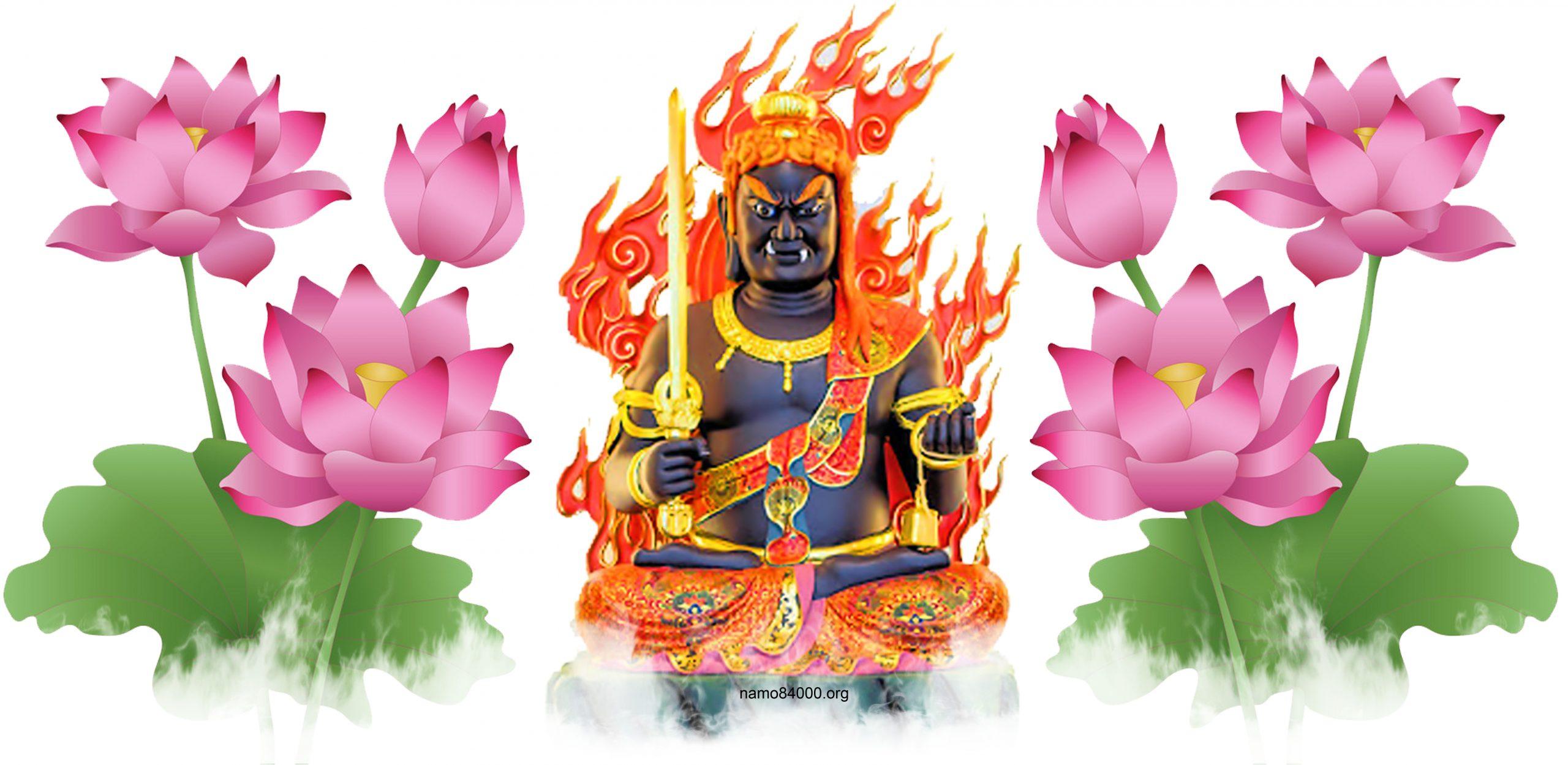 Bất Động Minh Vương –  Acala – 不動明王