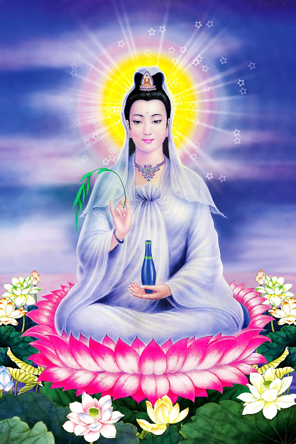 Tôn ảnh chất lượng cao Bồ tát Quan Thế Âm | HD images of Avalokiteśvara Bodhisattva | 大悲觀世音菩薩