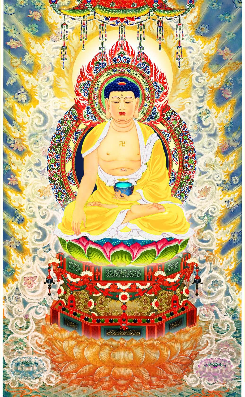 Tôn ảnh Tam Thế Phật