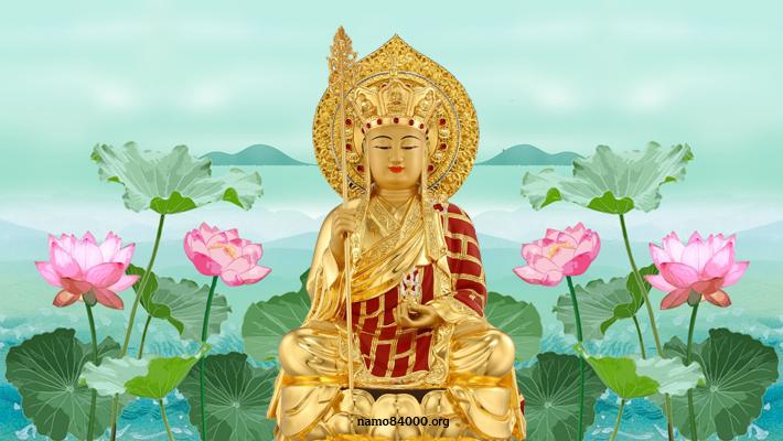 Địa Tạng Vương Bồ tát – Kṣitigarbha – 地藏王菩薩