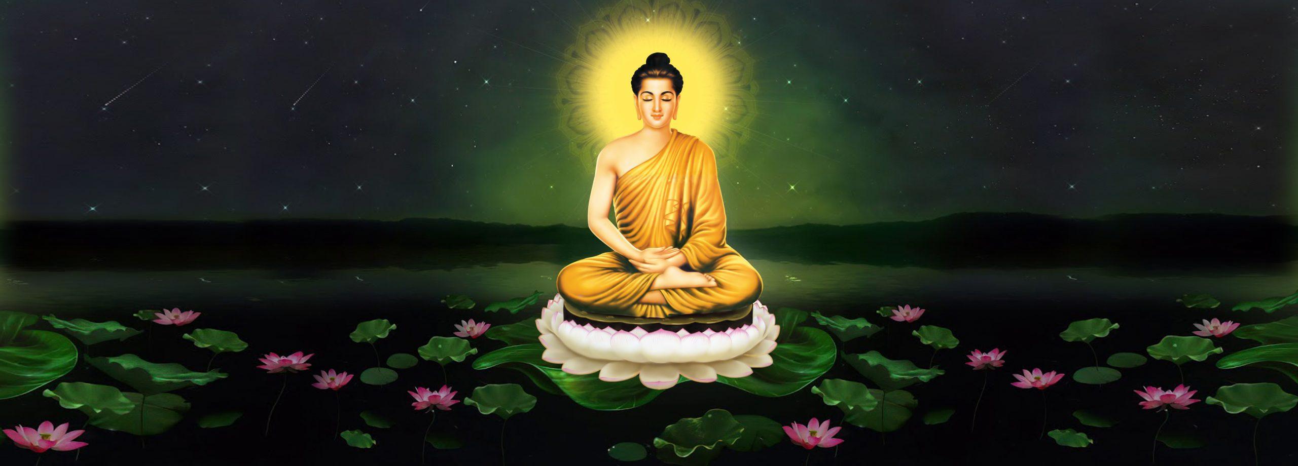 Tôn ảnh Phật Thích Ca ảnh cover facebook