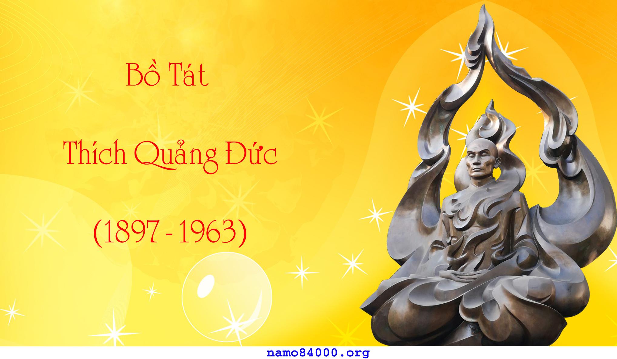 Tôn ảnh Bồ tát Thích Quảng Đức | Image of Bodhisattva Thich Quang Duc