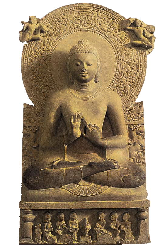 Đức Phật chuyển pháp luân thuyết tứ diệu đế