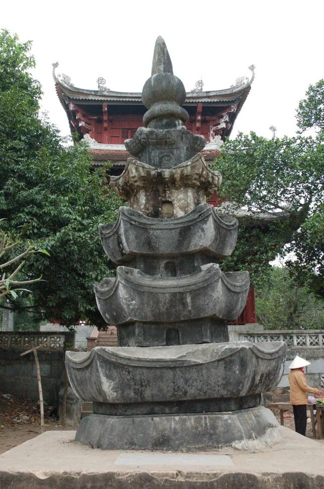 Bảo Tháp tại Viện Quỳnh Lâm